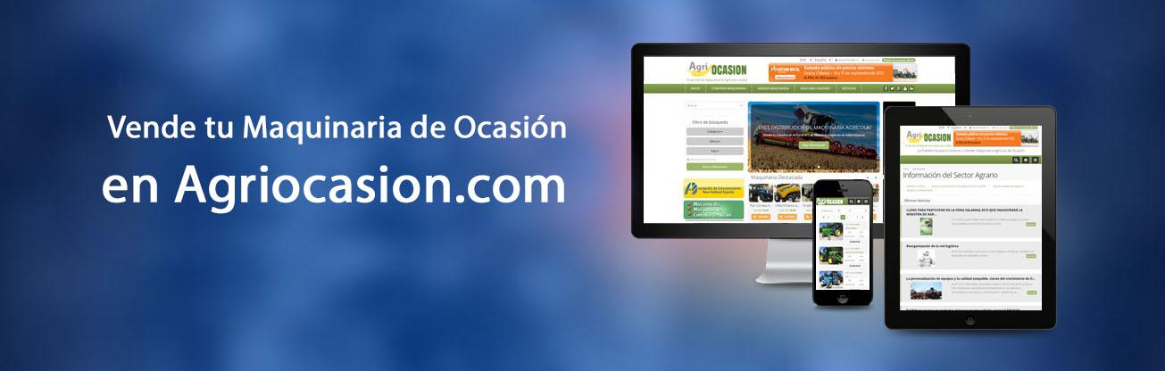 Agriocasion.com - El Portal de Compra y Venta de Maquinaria Agrícola Usada y de Ocasión