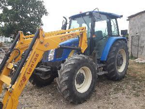 Buy Online Tractors New Holland tl100a  second hand