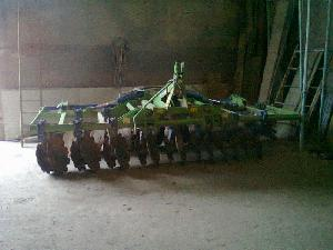 Sales Disc harrows Agromet plegable Used