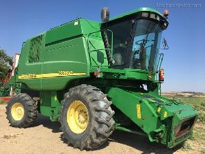 Buy Online Grain Harversters John Deere 9560 cws  second hand