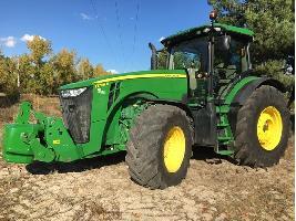 Tractores agrícolas 8295R John Deere