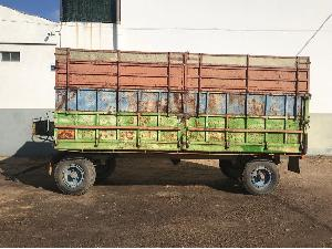 Venta de Remolques agrícolas Desconocida remolque agricola basculante usados