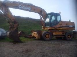 Excavadoras de Ruedas WX210 Case
