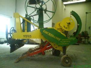 Ofertas Maquinas limpiadoras ESCRIBANO recolectora ecologica de residuos plasticos acolchados De Ocasión