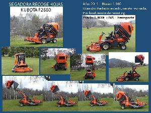 Ofertas Máquinas para calles Kubota f2880 De Ocasión