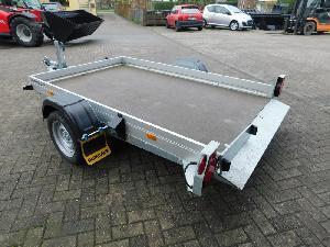 Venta de Remolques para vehículos Humbaur hkt 123515 s absenk-anhänger usados