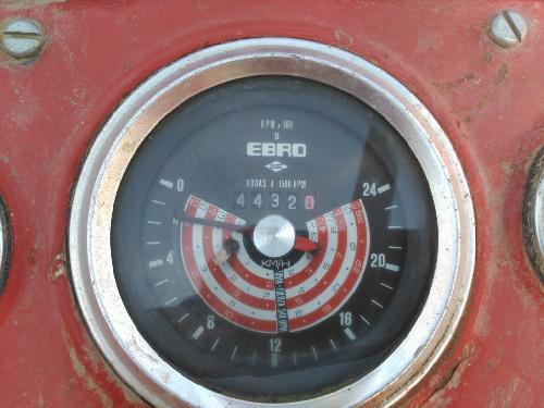 Oldtimer Traktoren Ebro  160