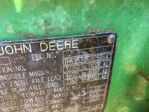 Tractores agrícolas John Deere 8520