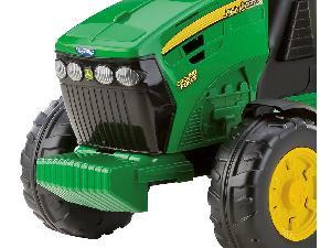 Tractores de juguete John Deere TRACTOR INFANTIL JUGUETE A PEDALES JD   CON REMOLQUE