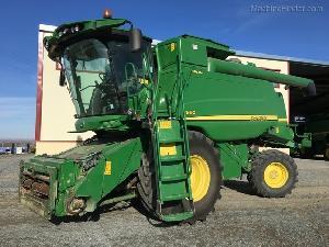 Comprar online Cosechadoras de cereales John Deere t660 hillmaster de segunda mano