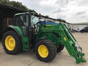 Comprar online Tractores agrícolas John Deere 6120m de segunda mano