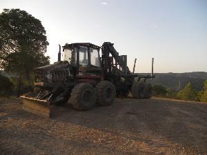 Verkauf von Forwarder Valmet 860 gebrauchten Landmaschinen