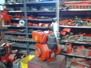 Verkauf von Die Pumpen für die Bewässerung Lombardini  gebrauchten Landmaschinen