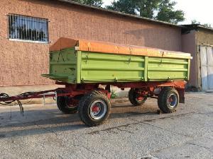 Verkauf von Landwirtschaftliche Anhänger Conow hw80.11 nd mit  getreideaufbau gebrauchten Landmaschinen
