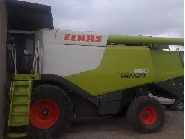 Cosechadoras de cereales LEXION 650 Claas