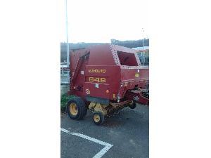 Verkauf von Rundballenpresse New Holland 648 gebrauchten Landmaschinen
