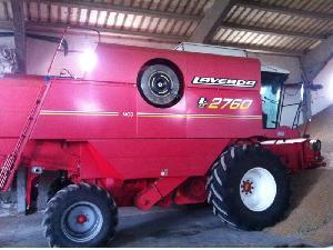 Offres Récolte de céréales Laverda 2760 mcs d'occasion