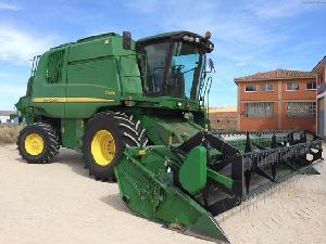 Acheter en ligne Récolte de céréales John Deere t 560i  d'occasion