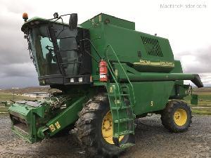 Acheter en ligne Récolte de céréales John Deere 1550 cws  d'occasion