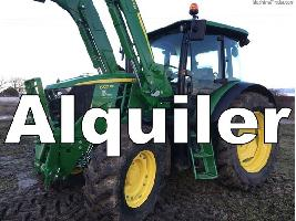 Tractores agrícolas 6100MC John Deere