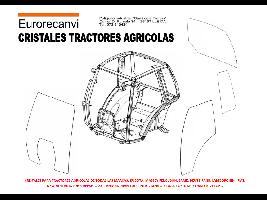 Recambios Maquinaria Agrícola CRISTALES AGRICOLAS Sconosciuta