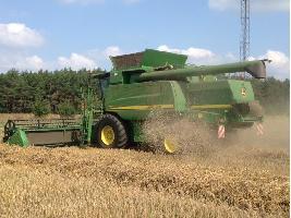 Cosechadoras de cereales T 660i John Deere