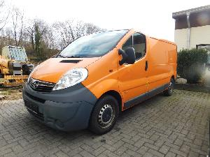 Venda de Caminhões de trabalho Opel vivaro 2,5 cdti  kastenwagen usados