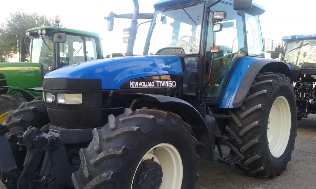 Tractores agrícolas New Holland TM150 Gra    | Agriocasion com